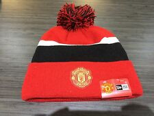 Manchester United New Era Beanie Pom Toque Cap Hat Soccer European Football Cuff