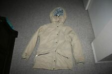 VINTAGE LL BEAN INSULATED WINTER PARKA COAT JACKET HOODED WOMENS SIZE L USA