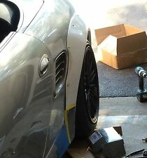 Porsche 986 Boxster 3 inch Rear Flares set bolt on New !!!
