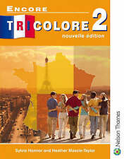 NEW Encore Tricolore Nouvelle 2 Student Book by Sylvia Honnor Paperback Book (Fr