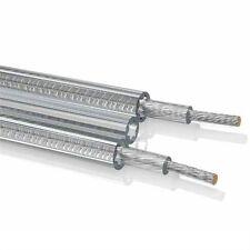 OEHLBACH 1022 Crystal Silver Star Lautsprecher Kabel 2x2,5mm² qmm Meterware 1m
