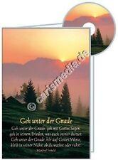 KARTE MIT CD: GEH UNTER DER GNADE - Zum Geburtstag - CD-Card *NEU*