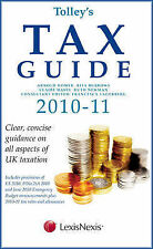 Tolley's Tax Guide 2010-11, Goodall, Andrew, Burrows, Rita, Homer, Arnold