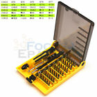 45 in 1 Multi-Bit Repair Tools Kit Set Torx ScrewDrivers For Gadgets, PC, Laptop