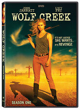 Wolf Creek: Lucy Fry Horror TV Mini Series Complete Season 1 Box / DVD Set NEW!