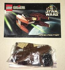 Lego Star Wars Droid Fighter Complete Set 7111 with Instructions
