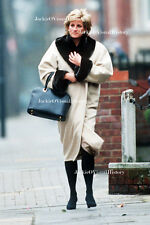 RARE Princess Diana Di 1996 Photo Walking in Chelsea, London after lunch