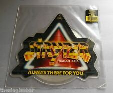 """Stryper - Always There For You USA 1988 Enigma 7"""" Shaped Picture Disc"""