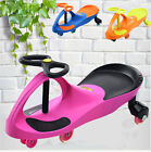 Outdoor Wiggle Car Swing Ride On Scooter Push Gyro Twist&Foot Mat Kids Toy Child