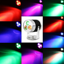7 color changing 3W LED Wall Wash Effect Stage Light Spotlight Beam DJ Lighting