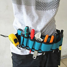 Carpenter Rig Hammer Tool Bag Waist Pockets Electrician Tool Pouch Holder Pack