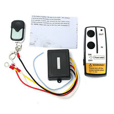Kit 12V Winch Wireless Remote Control Switch Unit for Truck ATV SUV Cabrestante