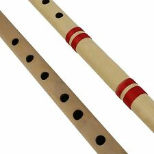 Best Export Quality indian Bamboo Flute Bansuri, Set of 2, Fipple & Transverse