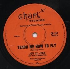 """JEFF ST. JOHN    Rare 1970 Oz Only 7"""" OOP Soul Rock Single """"Teach Me How To Fly"""""""