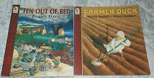 TEN OUT OF BED and FARMER DUCK 2 Children's Picture Books - p/b