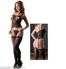 gueppiere catsuit bodystocking black nero tutina intimo donna erotico sexy shop