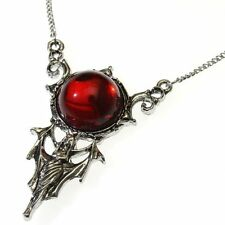 Red Blood Moon Rising Pendant Necklace Children of the Night CN04