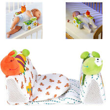 Baby Newborn Safe Anti Roll Pillow Sleep Positioner Prevent Flat Head Cushion
