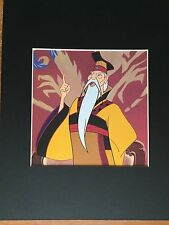 MULAN~THE EMPEROR OF CHINA~DISNEY ~8 x 10 Mat Print~PHILOSOPHICAL LEADER~NEW