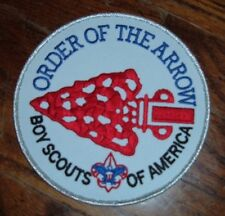 """Boy Scout 6"""" OA Order of the Arrow Patch - Great Collectible for Display/Jacket"""