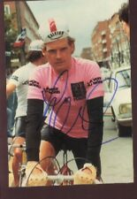 VAN VLIET ?? coureur cycliste PEUGEOT Photo Signée cyclisme ciclismo autographe