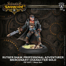 Warmachine Hordes BNIB Mercenary Rutger Shaw