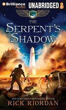 Kane Chronicles: The Serpent's Shadow 3 by Rick Riordan and Mercedes Lackey...
