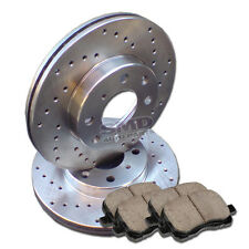 A0183 Toyota Corolla 98 99 00 01 02 Brake Rotors and Pads F