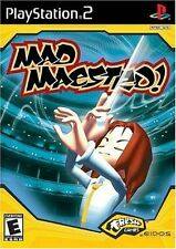 SONY PlayStation 2 PS2 Mad Maestro (NO GAME MANUAL)