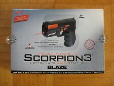 Blaze-Scorpion 3 Light Gun-laser targeting-PlayStation 2 ps2 USB ego Boxed