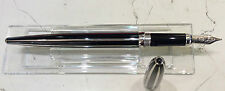 Cartier Fountain pen ST 190012 nuova limited edition bandes laquees noires
