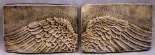 Angel Wings Art Wall Sculpture Plaque Home Decor