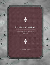 PIANISTIC CREATIONS. ORIGINAL PIANO SOLOS BK 7. CLASSICAL, SHEET MUSIC. PACE.