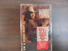 "NEW SEALED ""Wade Hayes"" On A Good Night Cassette Tape   (G)"