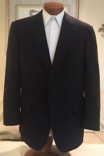 Brooks Brothers Mens Gray 2 Btn Heavy Wool Suit Sz 44 R MINT!