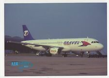 Travel Service Airbus A320 Aviation Postcard, B007