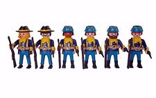 WESTERN NORTH UNION CAVALRY SOLDIERS ARMY  AMERICAN CIVIL WAR UNIKAT  PLAYMOBIL