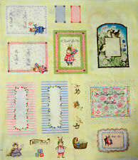 Holly Pond Beatrix Potter Quilt Labels cotton quilt fabric BTP 10 labels total