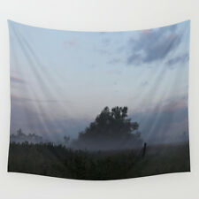 Wall Tapestry - Art Photo 51x60 / Morning Mist / Large Wall Art Wall Hanging