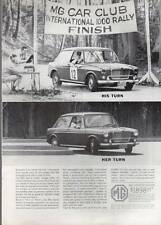 1964 MG Sports Sedan British Motor Corporation $1898 PRINT AD