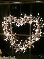 Glansa IKEA Wreath Twinkly Lights Heart Shaped New Box Sigga Heimis VVHTF