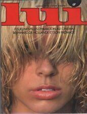 """""""LUI n°159 avril 1977"""" LES JEUNES FILLES D'HAMILTON AU CINEMA"""