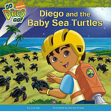 """Diego and the Baby Sea Turtles (""""Go Diego Go!""""), Nickelodeon, New Book"""