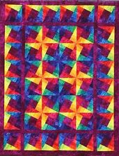 Starr Fire Quilt Pattern from Starr Designs-FREE US SHIPPING!