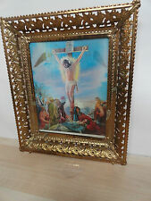 Changing picture two picture of Christ  in one   vintage
