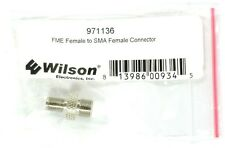 WILSON 971136 Cellular Booster Accessory (SMA Female to FME Female Connector).