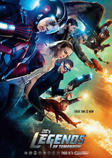 DC's Legends of Tomorrow A4 260gsm Poster Print