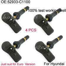 4pcs Tire Pressure Sensor TPMS For 2015 Hyundai Sonata Tucson 52933-C1100 433MHZ