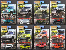 2016 Matchbox Jeep® Anniversary Edition 8-Car Complete Set Willys/Wrangler/MOC