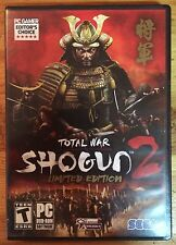 Total War: Shogun 2 -- Limited Edition (PC, 2011)
